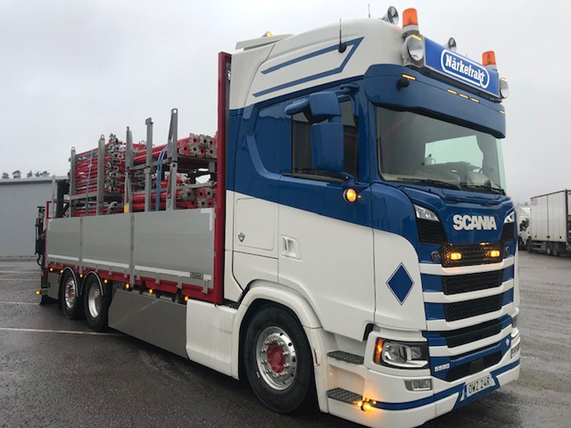 Scania S580 till Mickie Hermansson Transport